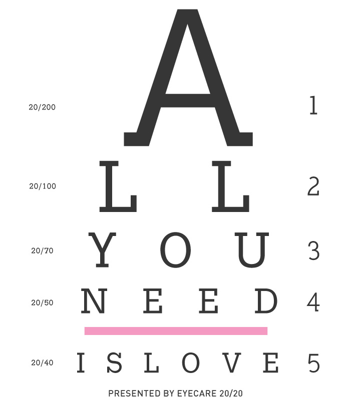 Here Is The Docs Favrorite Quote Done In Eye Chart Style