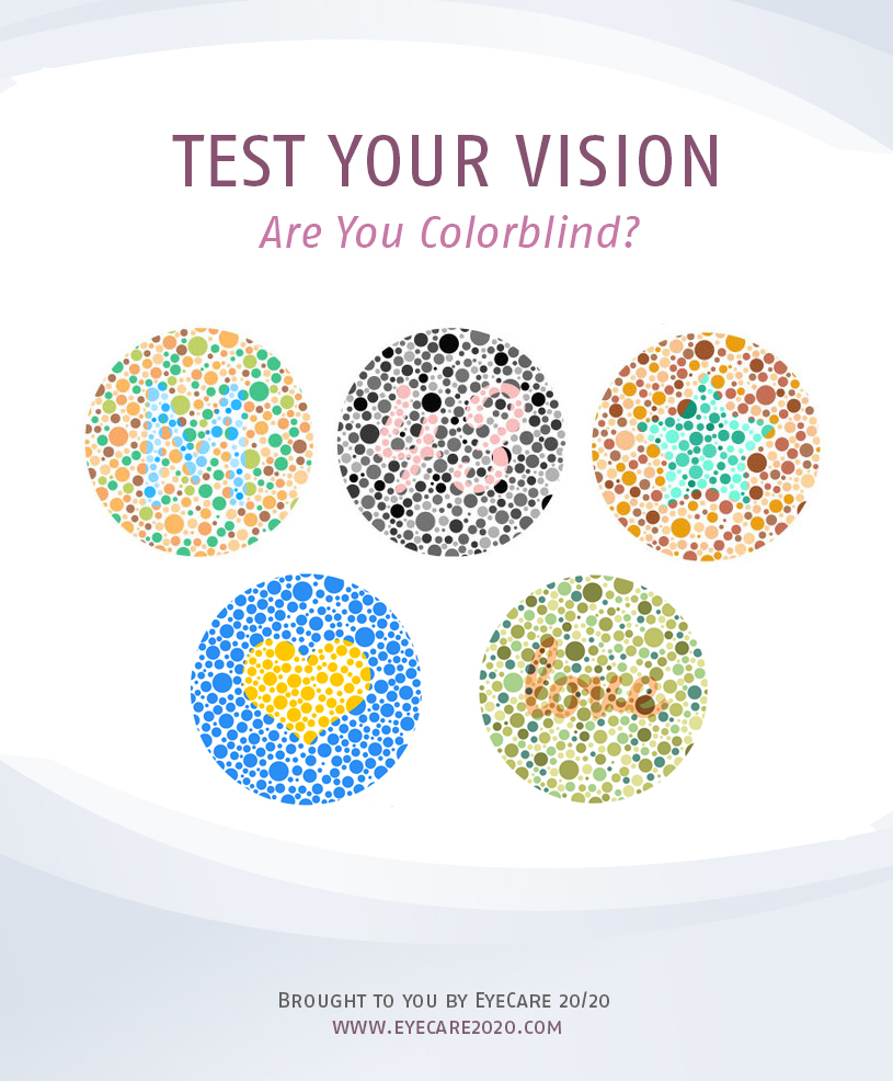 Book for color blindness - Colorblind